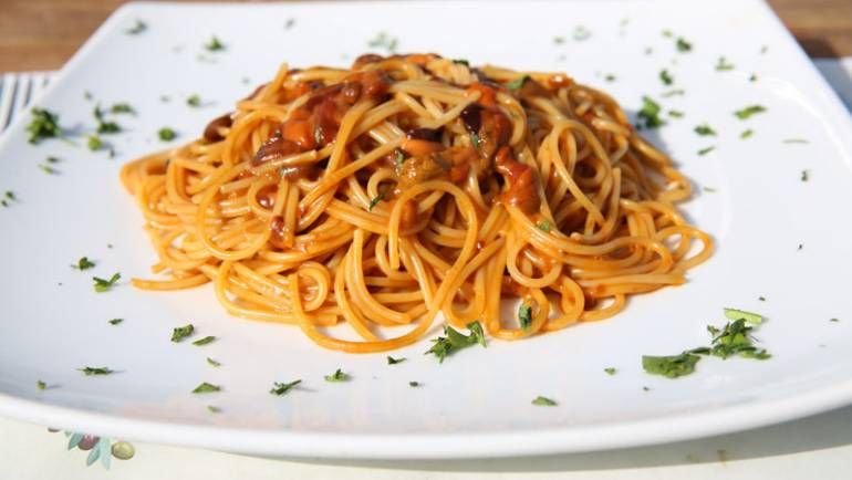 Sea Urchins Spaghetti