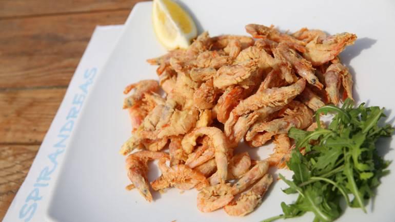 Grilled shrimps (prawns)